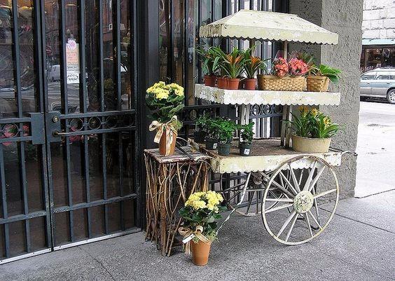 Crats Flower Cart O Rental Vendor Dekorasi Wedding Rustic Bandung